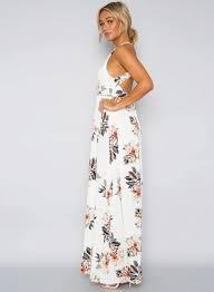 floral maxi dress halter neck floral print maxi dress oasap