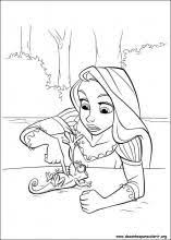 rapunzel coloring pages tangled all this for princess reesie