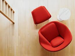 buy the knoll studio knoll womb chair and ottoman at nest co uk