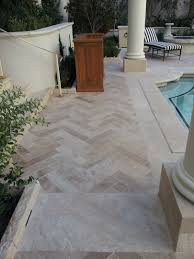 travertine pavers a cool choice for your pool deck travertine