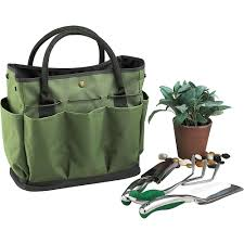 picnic at ascot gardening tote with tools outdoor yardwork flowers