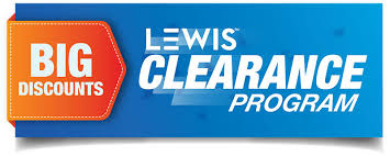 clearance items lewis