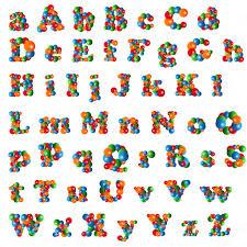 bubble alphabet u2014 stock vector radub85 21577327