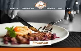 cours de cuisine ille et vilaine conception et création site pour restaurant et cours de