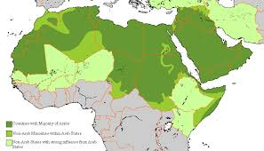 map arab file arabs map gif