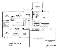 ranch floor plans with basement house plans marvellous ranch house plans with basement 3 car