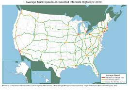 Highway Map Usa by Us Interstate Map Black