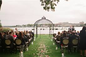 staten island wedding venues relaxed outdoor staten island new york wedding junebug weddings
