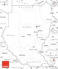 Blank South America Map Blank Simple Map Of Sudan