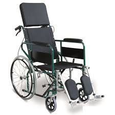 tilt and recline manual wheelchair attractive green reclining