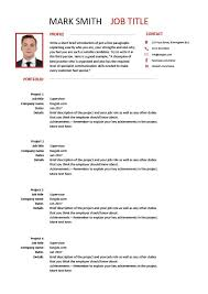 modern resume template 9 examples employment find work