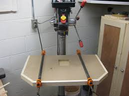Drill Press Table My First Drill Press Table