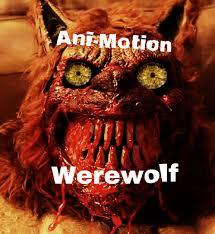 werewolf mask spirit halloween ani motion werewolf mask halloween 2015 youtube