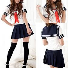 modern cosplay japanese students sailor uniform
