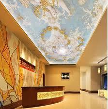 soffitti dipinti soffitti affrescati wallpaper blue continental dipinti a