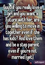 Step Parent Meme - guys if you really love a girl and you want a future with her are