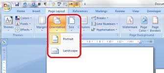 How To Put An Excel Table Into Word Portrait And Landscape Orientation In Word And Excel