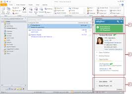 loving the salesforce side panel for outlook saves a ton of time