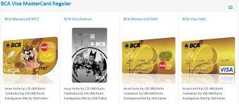 bca gold card kartu kredit bca jenis dan promo kartu kredit bca