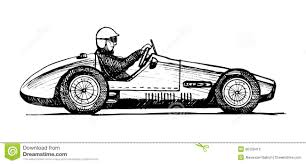 vintage cars drawings old sports car stock photography image 36128412