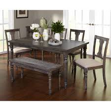 Dining Bench Table Set Adorable Dining Set With Bench Table Set With Bench Captivating
