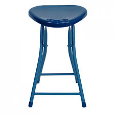 Folding Table With Handle Folding Stool With Handle 4 Pack Moonlight Blue