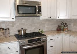 charming design ivory subway tile backsplash light ivory