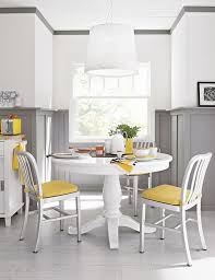 Impressive Design Ideas 4 Vintage Furniture Vintage White Dining Table Furniture Set With Yellow