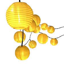 led lantern string lights lantern solar string lights innoo tech outdoor globe lights 14 4ft