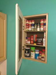 diy recessed medicine cabinet build a recessed storage cabinet