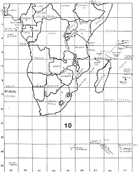 World Map With Longitude And Latitude Degrees by The World Map Project The World Map Project 10 Questions
