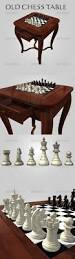 Modern Chess Table
