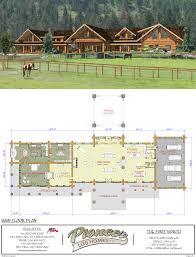 pioneer log homes floor plans fort worth pioneer log homes midwest