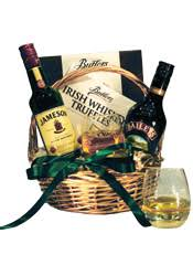 whiskey gift basket send liquor st s day specials