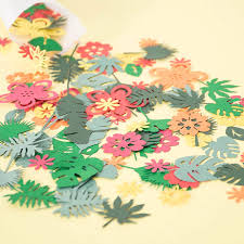 Luau Party Table Confetti Hawaiian Party Decorations Tropical