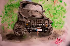 jeep drawing azinrakhtshah azin rakhtshah deviantart