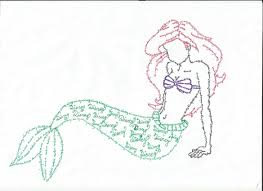 mermaid ariel andzia509 deviantart