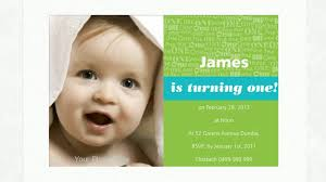 Editable 1st Birthday Invitation Card 1st Birthday Invitations Youtube