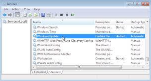 membuat xp auto start di windows 7 start stop windows update service in windows 7 from services