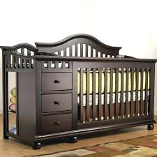 crib changing table combo best baby cribs with changing table attached ideas cribs with