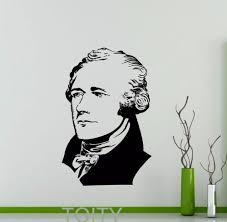 aliexpress com buy alexander hamilton sticker wall decal vinyl