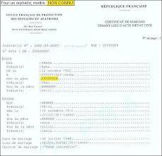 transcription mariage nantes formulaires état civil ofpra