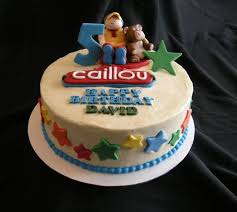 caillou birthday cake new jersey pastry chef gato sal ferrara food cakes desserts