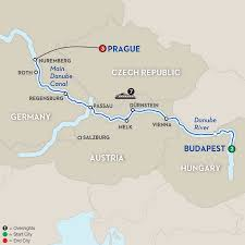 Canadian River Map Festive Season On The Blue Danube Discovery