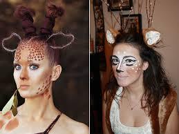 White Tiger Halloween Makeup by Animal Halloween Makeup Inspiration Ikifashion