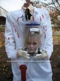 Lab Halloween Costume Ideas Coolest Homemade Decapitated Mad Scientist Halloween Costume Idea