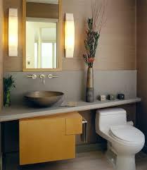 Powder Room Basins Basin Functional Design Bathroom Contemporary With Led Hole
