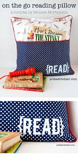 pocket pillow sewing pattern on polka dot chair blog reading