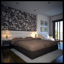 Modern Wallpaper Ideas For Bedroom - bedrooms freshome feature wall modern wallpaper designs for
