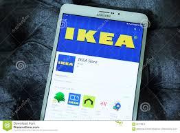 ikea store app editorial stock image image 92778014